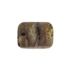 Artistic Stone 10x14mm Rectangle 13pcs Approx